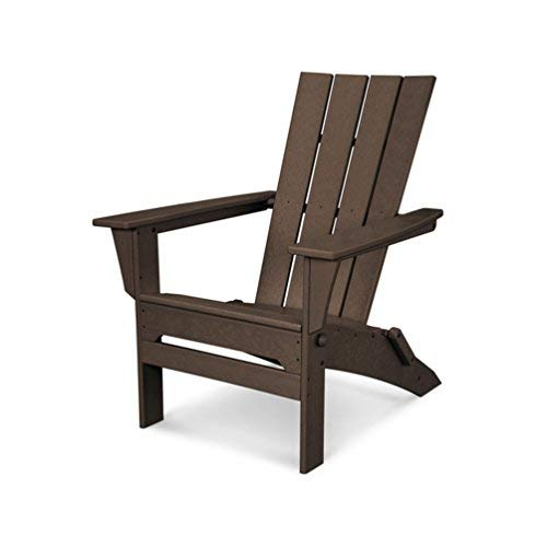 POLYWOOD QNA110MA Adirondack Chair, Mahogany Review