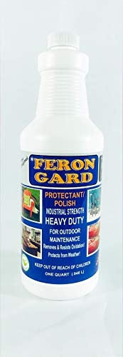 (The Original Feron Gard for Outdoor Patio Furniture Maintenance Enhancer and Protectant Against Weather Polish Protectant Heavy Duty Industrial Strength and Surfaces)