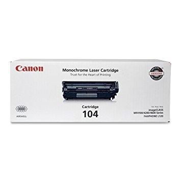 Canon CARTRIDGE104 Toner Cartridge, F/ L120 Faxphone, 2000 Page Yield, Black ()