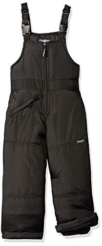 OshKosh B'Gosh Boys' Little Perfect Snowbib Snowsuit Skibib, Very Black, ()