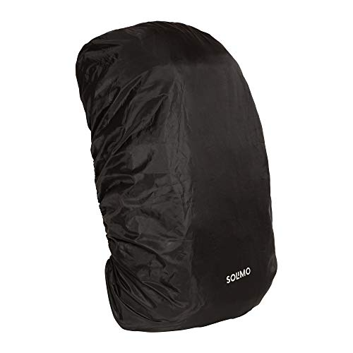 Amazon Brand – Solimo Rain & Dust Cover for Backpack (30 litres, Black)