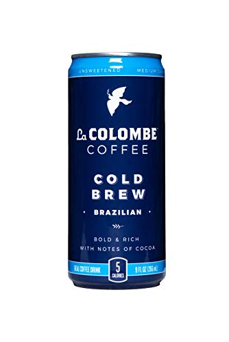 La Colombe Pure Black Cold-Pressed Coffee - 9 Fluid Ounce, 16 Count - Medium Roast, Single-Origin Cold Brew - Made With Real Ingredients - No Sugar Added - Grab And Go Coffee