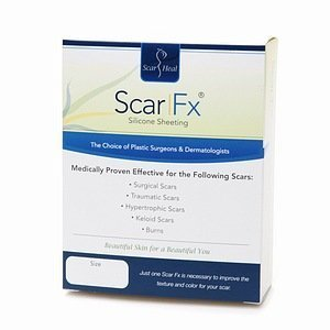 Scar Fx Self-Adhesive Silicone Sheeting, 1.5x3 1 ea by Scar Fx