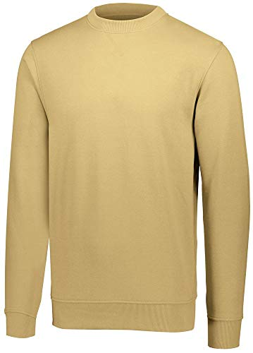 Augusta Sportswear Men's 60/40 Fleece Crewneck Sweatshirt 2XL Vegas Gold