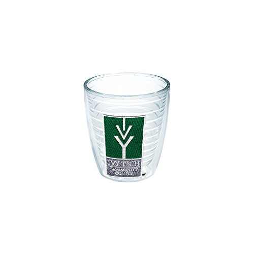Tervis 1052715 Ivy Tech Community College Logo Tumbler With Emblem 12Oz  Clear