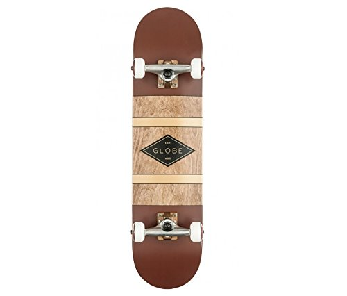 Globe Diablo Skateboard Unisex adulto Multicolor Oxblood  Anti Brass Única