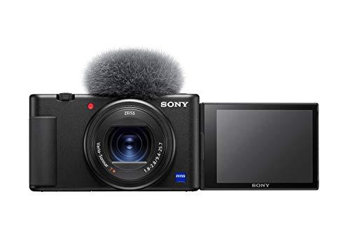 Sony ZV1BDI.EU – Cámara vlogging (Eye AF con Seguimiento a Tiempo Real, detección de Fases, prioridad a rostros en Auto…