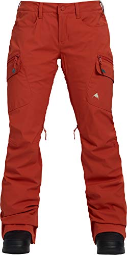 Burton Women's Gore-tex Gloria Snow Pant, Hot Sauce, Large