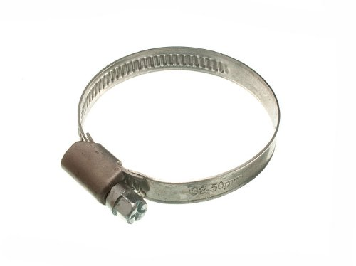 200 X Hose Clamp Jubilee Clip 30Mm - 50Mm Ss Stainless Steel by DIRECT HARDWARE