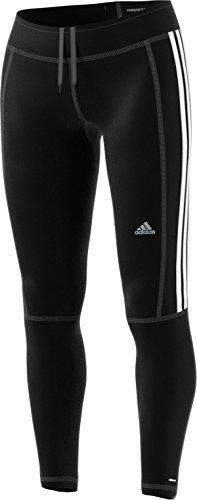 adidas Women's Running Response Long Tights, Black/Black, Medium