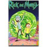 rick and morty get your together poster