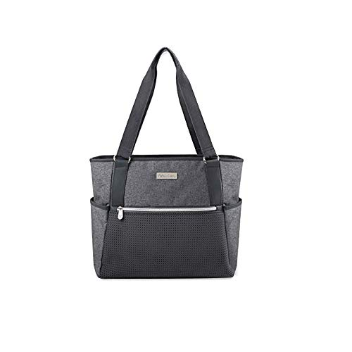 - Diaper Bag 2 Piece Set with Stroller Hooks, Insulated Bottle Pocket, Padded Tablet Pocket, & Portable Changing Pad