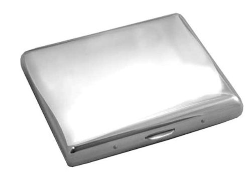 Visol Products Mirror Polished Stainless Steel Cigarette Case by Visol