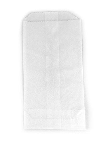 Glassine Paper Bags - - 100 - Flat Glassine Wax Paper Bags - 3in x 5 1/2in - (7.6cm x 14cm) - Includes JenStampz Top 10 - Small