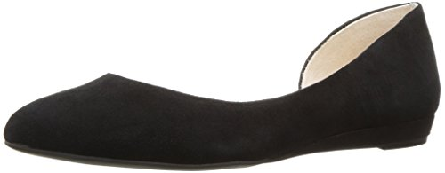 Jessica Simpson WoMen Lynsey Ballet Flat, Black, Medium Black