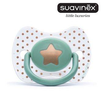 Amazon.com: Suavinex Haute Couture la vida es oro chupete de ...