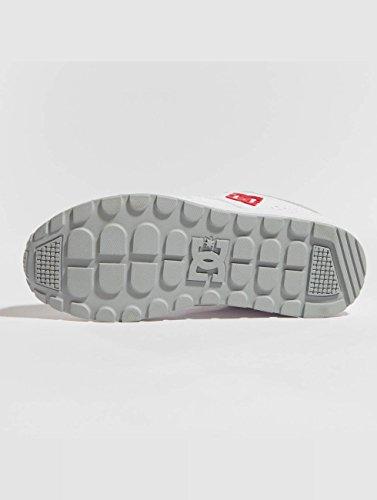 DC Uomo Kalis Red Lite White Sneaker Scarpe vvrFq