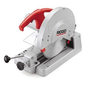 Dry Cut Circular Saws - RIDGID 71687 614 Circular Saw, Dry Cut Saw Features Large 14-inch Carbide-Tipped Blades for Cutting Steel, Copper, Aluminum, Plastic or Wood
