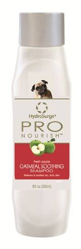 HydroSurge Pro Nourish Oatmeal Soothing Shampoo Fresh Apple Scented 18 ounces, My Pet Supplies