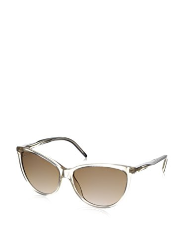 398b0499f1a Gucci Sunglasses - 3641   Frame  Crystal Beige with White Temples Lens   Brown Gradient