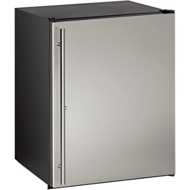 U-Line UADA24RS13B 24 ADA Series Freestanding or Built In Compact Refrigerator with 5.3 cu.ft. Capacity, in Stainless Steel