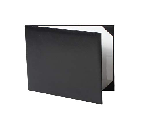 GraduationService Smooth Diploma Certificate Cover 8 1/2'' x 11'' (Black) by GraduationService (Image #6)