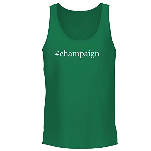 Desert Glow Ring (BH Cool Designs #Champaign - Men's Graphic Tank Top, Green, Large)
