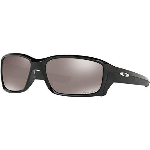 Oakley Men's Straightlink Polarized Rectangular Sunglasses