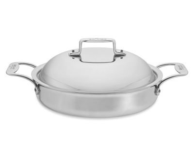 All-Clad d5 Stainless Steel 3-Quart Sauteuse with Lid by All-Clad