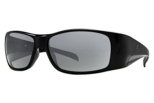Fatheadz Eyewear Men's Power Trip V2.0 FH-V121-1SM Polarized Wrap Sunglasses, Black, 67 - Sunglasses Amazon Fatheadz