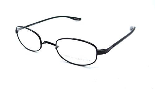 Barton Perreira RX Eyeglasses Frames Nathaniel 46x22 Black Satin Titanium - Perreira Barton Titanium
