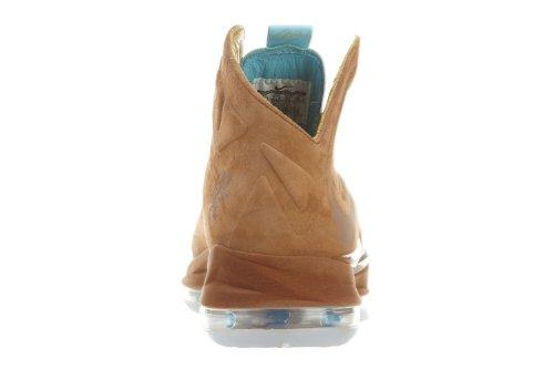Zapatillas De Baloncesto Nike Para Hombre Lebron X Ext Qs En Avellana / Violeta