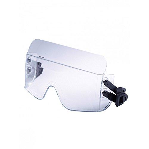 Casco de protección iris2 Casco con gafas máscara de color blanco: Amazon.es: Industria, empresas y ciencia