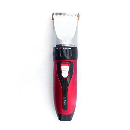 Akku Profi Haarschneider - Haarschneider - Akku Haarschneidemaschine mit 4 Aufsätzen ideal für Friseur Salon oder privaten Gebrauch - leiser aber starker Motor als Set Netz und Akkubetrieb