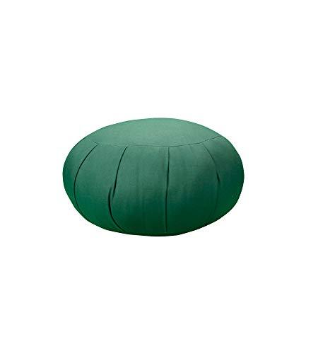 Carolina Morning Designs Inflatable Zafu Meditation Cushion (Hunter Green)