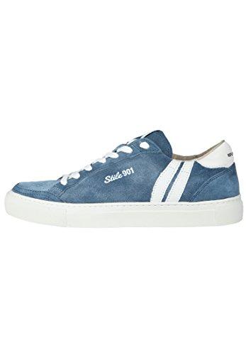 Replay Gmz55.000.c0001l Herren Baskets Jeansblau