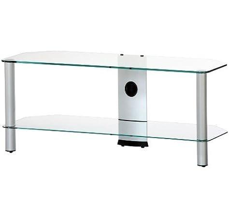 RO&CO - Mueble TV. Ancho 110 cms. 2 estantes. Vidrio Transparente ...