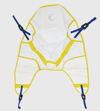 BestSling Disposable Slings Replacement for Arjo SPS - Extra Large, Best Fits: 270-600 lb, 600lb Weight Capacity - 10 Each / Case - SLMFA1000MXL