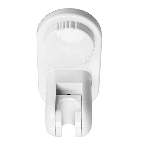 14.597cm Adjustable Suction Cup Shower Head Holder Wall Mount Bathroom Bracket