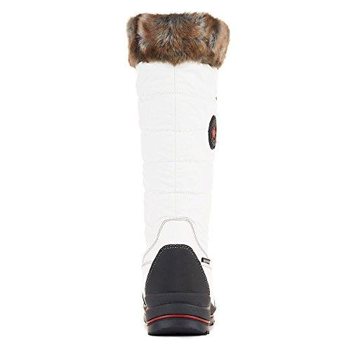 Cougar Damesschoenen Chateau Snowboots Wit Gestroomlijnd Nylon