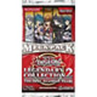 YuGiOh GX Legendary Collection 2 Mega Booster Packs 9 Cards ()