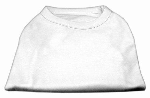 Dog Supplies Plain Shirts White Med (12) (T-shirts Blank Dog)