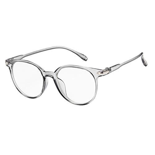 MALLOOM Unisex Glasses,Spectacle Optical Frame Glasses Clear Lens Computer Anti-Radiation Eyeglasses ()