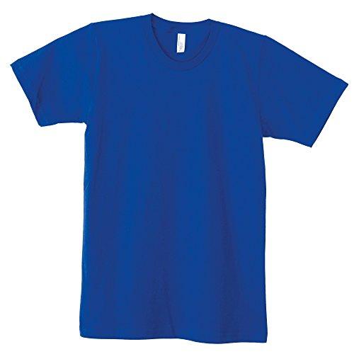 所有者追い払うベル(アメリカンアパレル) American Apparel ユニセックス 無地 ファインジャージー ショートスリーブTシャツ 半袖Tシャツ 半袖カットソー カジュアルトップス 定番 男女兼用