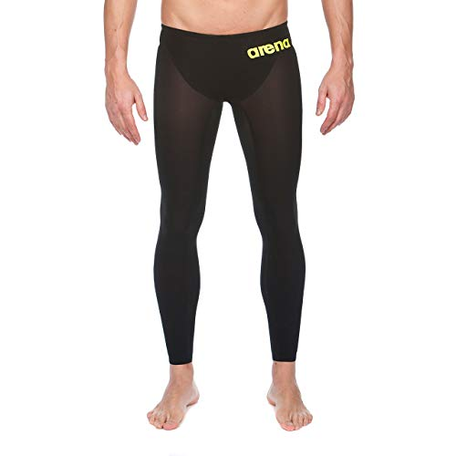 Arena Powerskin R-Evo Open Water Pant, Black/Fluo Yellow, 26 by Arena (Image #1)