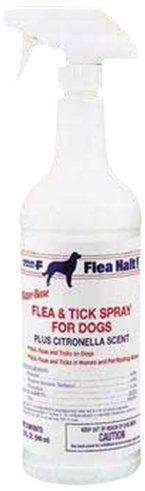 Flea Halt! Water Based Flea and Tick Spray for Dogs, 32 oz, My Pet Supplies