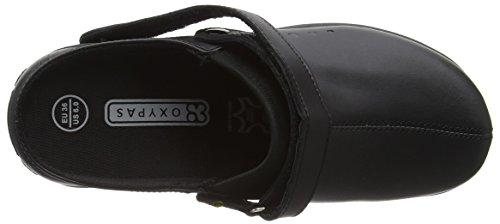 Oxypas Doria, Zapatos de seguridad, Mujer Negro (Blk)