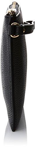 MICHAEL Michael Kors Women's Mercer Leather Clutch Bag One Size Black