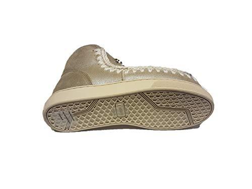 Sneaker Eskimo Mou Stone Strass Metallic Mini qHzS7