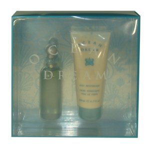 Ocean Dream by Designer Parfums Ltd. for Women - 2 pc Gift Set 3.0oz edt Spray, 6.7oz body moisturizer ()